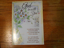 LOT OF 4 RECOVERY - GET WELL CARDS CHRISTIAN INSPIRATIONS