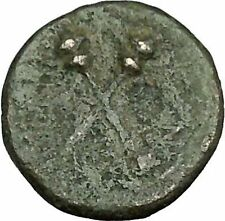 MENAINON in Sicily 175BC Demeter Ceres & Torches HOPE Emblem Greek Coin  i39580