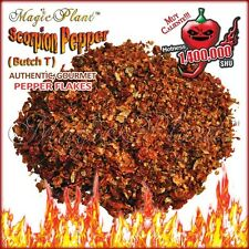 Trinidad Scorpion Pepper Flakes - Crushed Scorpion Peppers Dried  (1KG)