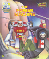 GOBOTS - THE POWER MACHINE - GOLDEN HEROIC CHAMPIONS BOOK 1985 1st HB - VG CON