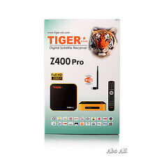 New Model Tiger IPTV Z400 Pro with Free 12 months IPTV Arabic, Tukey Channals