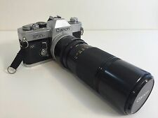 Canon FTB QL SLR Film Camera w/FD 100-20mm 1:5.6 Zoom lens-Good Working