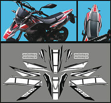 Yamaha WR 125 X  Anniversario  N.N. 2009 / 14 - adesivi/adhesives/stickers/decal