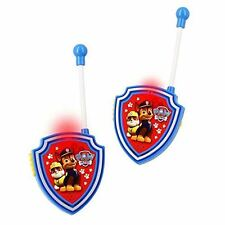 New Nickelodeon Paw Patrol Kids Walkie Talkies Set of 2 Toy 3+