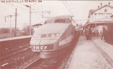 MEXIMIEUX gare chemin de fer TGV