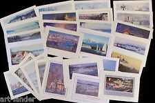 26 Seattle WA San Juan Island Ferry Boats Fine Art Note Cards ~ Marshall Johnson