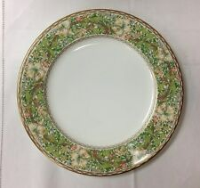"NIKKO GOLDEN LILY DINNER PLATE 10 3/4"" BONE CHINA, WILLIAM MORRIS DESIGN NEW"