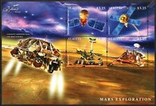 MARS Surface Exploration/Curiosity/Mariner 7/Viking/Rover Space Stamp Sheet