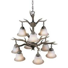 Aztec Lighting Buckhorn 9-light Chandelier