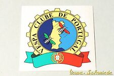"""Decor Sticker """"Vespa Clube de Portugal"""" - V50 PK PX GL Rally Sticker Club Klub"""