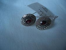 Pendientes de plata 925 con Granate!!!