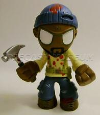 """AMC THE WALKING DEAD ZOMBIE BLOODY CHASE TYREESE WITH HAMMER MINI 2"""" 1/2 FIGURE"""