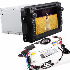 "7""2Din In-Dash Car Video Stereo GPS Navigation For Chevy Silverado Bluetooth TV"