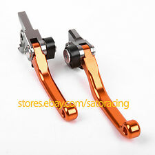 CNC Pivot Dritbike Brake Clutch Levers For KTM 350SX-F 350XC-F 350EXC-F 11-2013