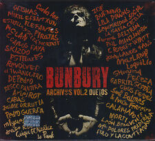 CD - Bunbury NEW Archivos Vol. 2 Duetos Includes 3 CD's FAST SHIPPING !