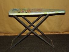 VINTAGE TOY 1982 WOLVERINE TOY CO USA CHILD TIN IRONING BOARD