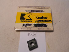 5 NEW KENNAMETAL CNMP 543 CARBIDE INSERTS. GRADE: KC910. USA MADE  {F428}