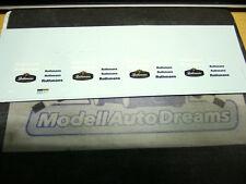 Decalsatz DECAL Decals Rothma ns Rallye Racing 911 956 etc 1:43