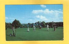 Delavan Lake,WI Wisconsin, Lake Lawn's beautiful 18 hole GOLF COURSE used 1953