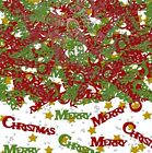MERRY CHRISTMAS TABLE CONFETTI - CHRISTMAS PARTY DECORATION