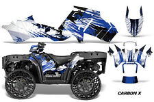 Polaris Sportsman WV850 ATV Graphic Kit Wrap Quad Accessories WV Decals CARBON U