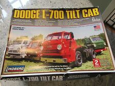 Lindberg 1/25 Model Dodge L-700 Tilt Cab Truck Plastic Model New in Box