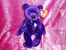 """NEW & RETIRED, TY PRINCESS DIANA BEANIE BABY"", In Protective Case, 1997"