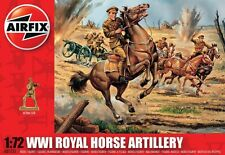 Airfix 1/72nd Scale WWI Royal Horse Artillery Plastic Soldiers Set
