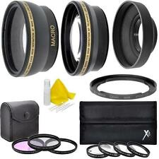 7PC Accessory Kit for Canon PowerShot SX50 SX40 HS SX30 SX20 SX10 IS SX540 SX530