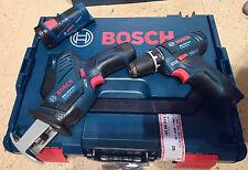 Bosch Professional GSR Akkuschrauber+GSA Säbelsäge+GLI Taschenlampe 10,8V-LI NEU