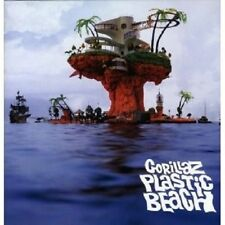 """GORILLAZ """"PLASTIC BEACH"""" 2 LP VINYL NEU"""