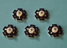 5 x 3W 940nm IR POWER  LED on HEATSINK Kühlkörper Emitter Infrarot Infrared 5mm