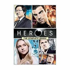Heroes: The Complete Series (DVD, 2015, 21-Disc Set, Canadian)