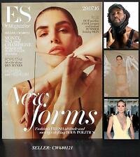 HILARY RHODA ESTEE LAUDER DEV HYNES BLOOD ORANGE HEIDI KLUM ES MAGAZINE JUL 2016