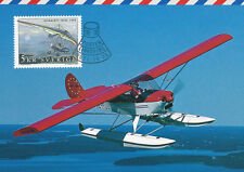 Sweden 2001 FDC - Maxi Card no 181 - Airplane Ultralight Trike