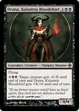 DRANA, KALASTRIA BLOODCHIEF Rise of the Eldrazi MTG Black Creature—Vampire RARE