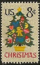 US 1508 Holiday Christmas Tree in Needlepoint 8c single MNH 1973