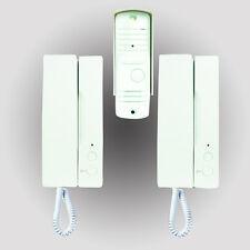 ELRO IB12 Türsprechanlage Gegensprechanlage 1 Familie 2 Telefone Spechanlage