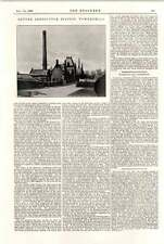 1898 Edimburgo rifiutare DISTRUZIONE powderhall Cape FERROVIE Belgio LIGHT Rail