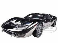 1966 FORD GT40 GT 40 CHROME LIMITED TO 500PC 1/18 BY SHELBY COLLECTIBLES SC413