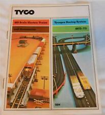 1972-73 Tyco HO Trains / Slot Car Catalog