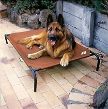 Large Dog Bed Elevated Raised Pet Cot Outdoor Portable Camping Steel Frame New