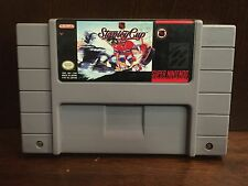 SNES Super Nintendo NHL Stanley Cup Video Game Cartridge 1991