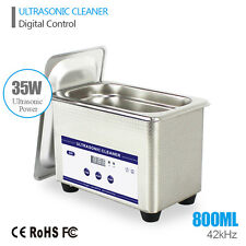 0.8L 35W 42kHz Digital Ultrasonic Cleaning Transducer Ultrasonic Bath Ultrasound