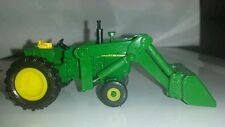 1/64 ERTL custom John deere 4020 tractor with John deere loader farm toy