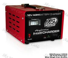 XS Power 1004 16 Volt Racing or Car Audio AGM Battery Charger 20 Amp 16v 20a