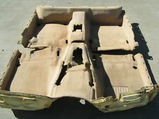 BMW E38 740iL 750iL ONLY 7 SERIES TAN BEIGE FLOOR CARPET RUG COMPLETE FRONT REAR