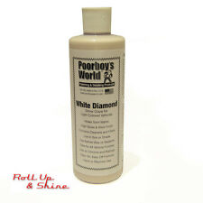 Poorboys White Diamond Show Car Glaze With FREE 2 Buffing Cloths