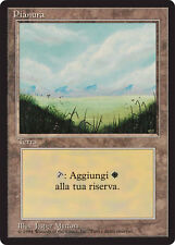 FBB Pianura - Plains MTG MAGIC Italian Revised Art A (Light) LIGHTLY PLAYED