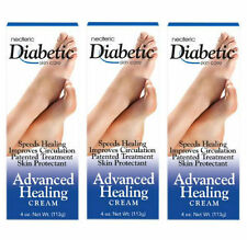 3 PACK Neoteric Diabetic Oxygenated Advanced Healing Cream 4 oz (735379160108)